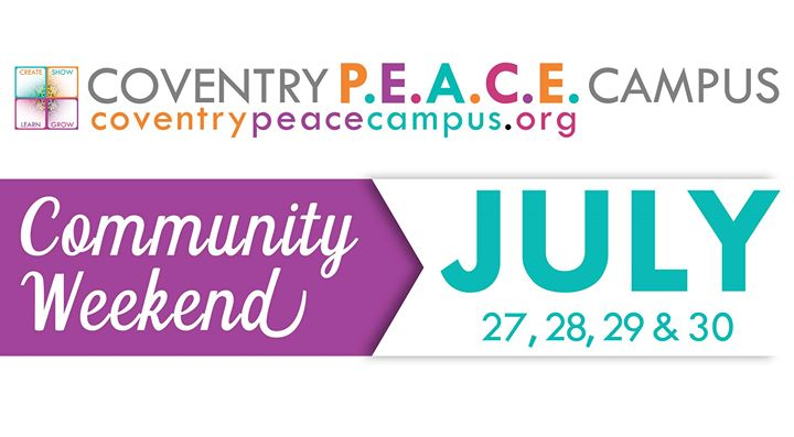 Coventry PEACE Campus Community Weekend