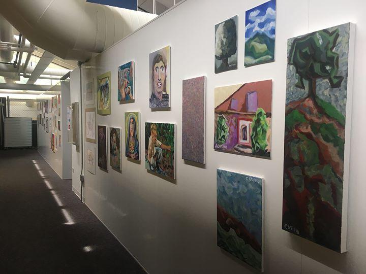 JFSA 2017 Client Art Show at Artful Cleveland.
