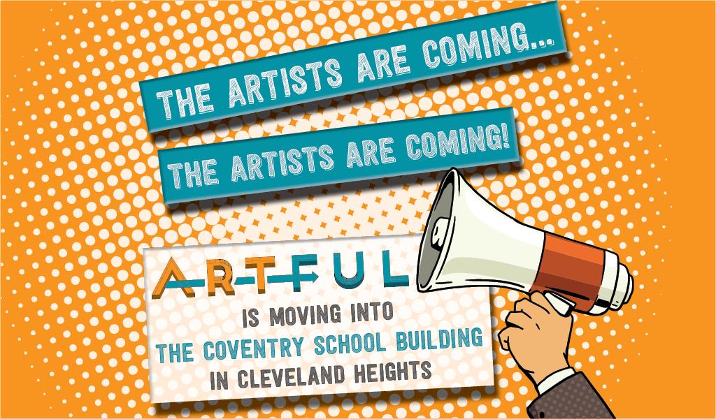 The artists are coming… THE ARTISTS ARE COMING!!